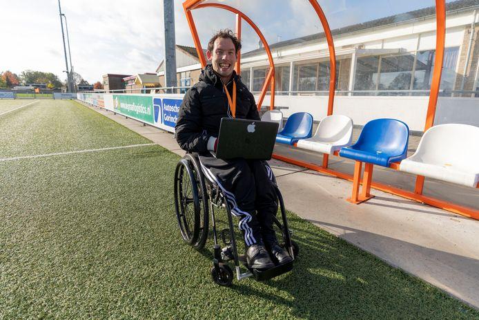 website razend populair na openhartig zelfgeschreven artikel over leven met een chronische handicap en toch mee kunnen draaien in de voetballerij.