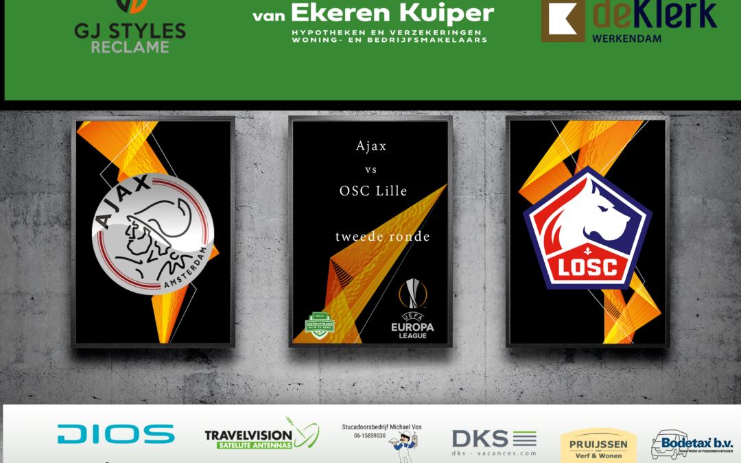 Ajax kan niet overtuigen in de Johan Cruijff Arena maar plaatst zich desondanks wel voor achtste finales EL