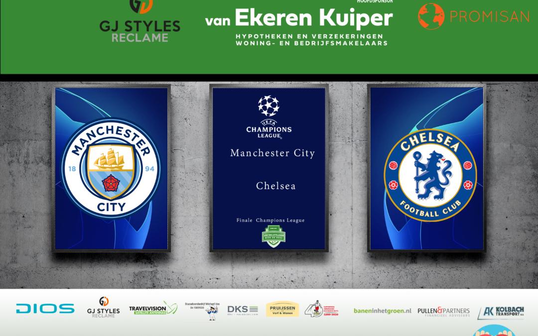 Chelsea wint Engelse clash van Manchester City en pakt de Champions League