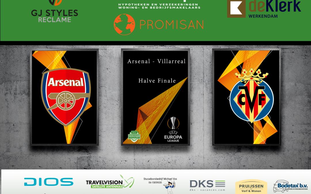 De droom van Villarreal blijft maar voort duren met finale Europa League!