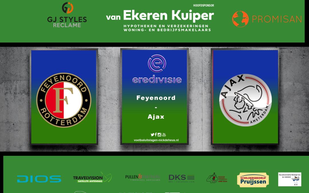 Ajax heeft werkelijk geen kind aan inspiratieloos Feyenoord