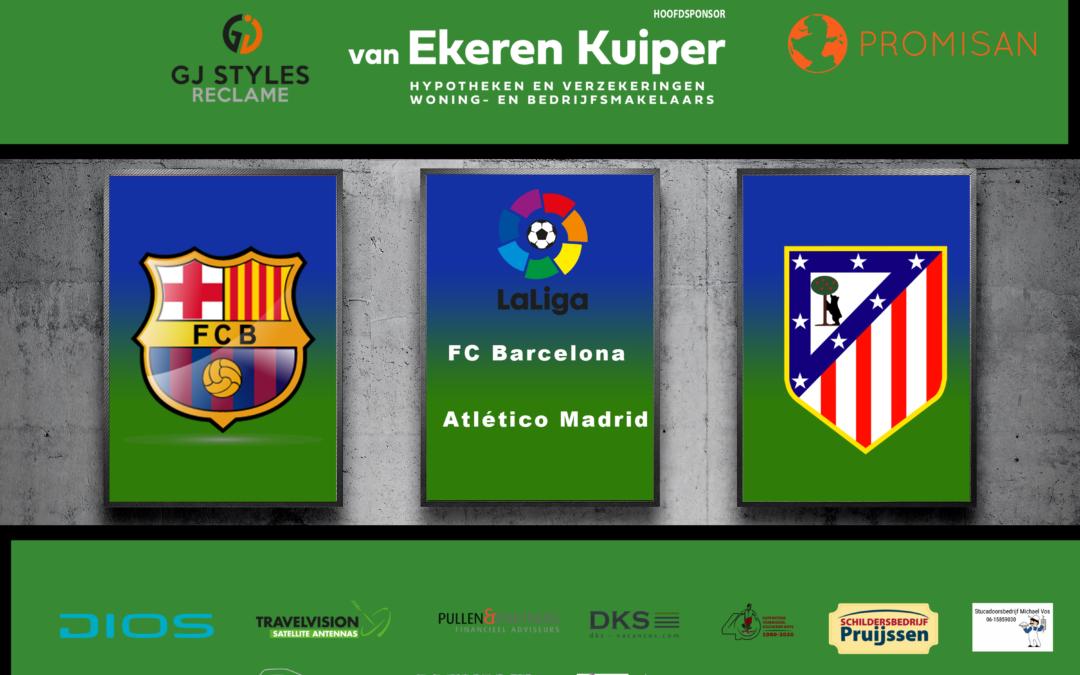 Real Madrid grote winnaar na topper FC Barcelona – Atlético Madrid