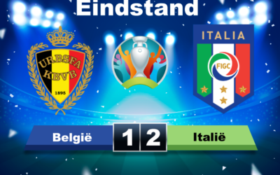 BELGIË –  ITALIË een wedstrijd die eigenlijk geen winnaar verdiende