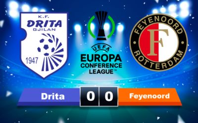 Teleurstellend  Feyenoord niet langs  Drita, Jupiler pro league gaat van start