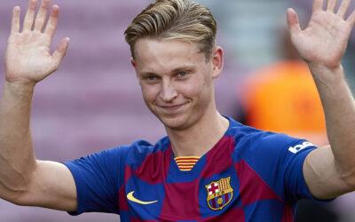 van ASV Arkel naar Willem, ajax en FC Barcelona :  Frankie de jong speler van het Jaar bij FC Barcelona
