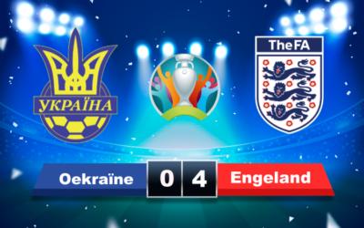 Engeland Tankt vertrouwen tegen Oekraïne en behaalt de halve finale