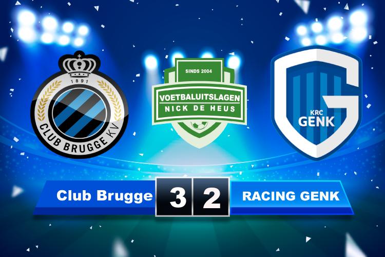 het RACING GENK van John van den Brom komt te laat op gang tegen Club Brugge in Supercup
