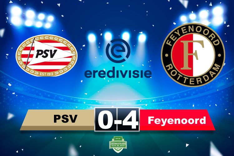 Feyenoord geeft PSV een lesje effectiviteit in topper