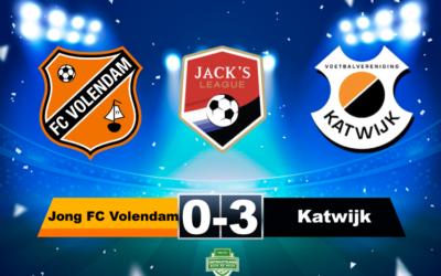 Samenvatting Jong FC Volendam  – Katwijk