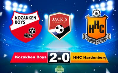 Samenvatting Kozakken Boys – HHC Hardenberg