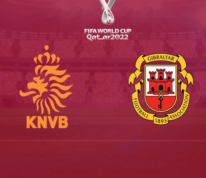 Nederland wint ruim van Gibraltar en mag zich over een maand opmaken voor clash met Noorwegen