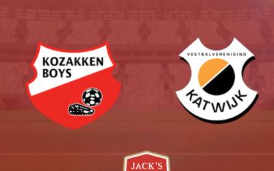 Donkere wolken boven  Werkendam na terechte nederlaag tegen Katwijk in heerlijke amateur klassieker tegen Katwijk